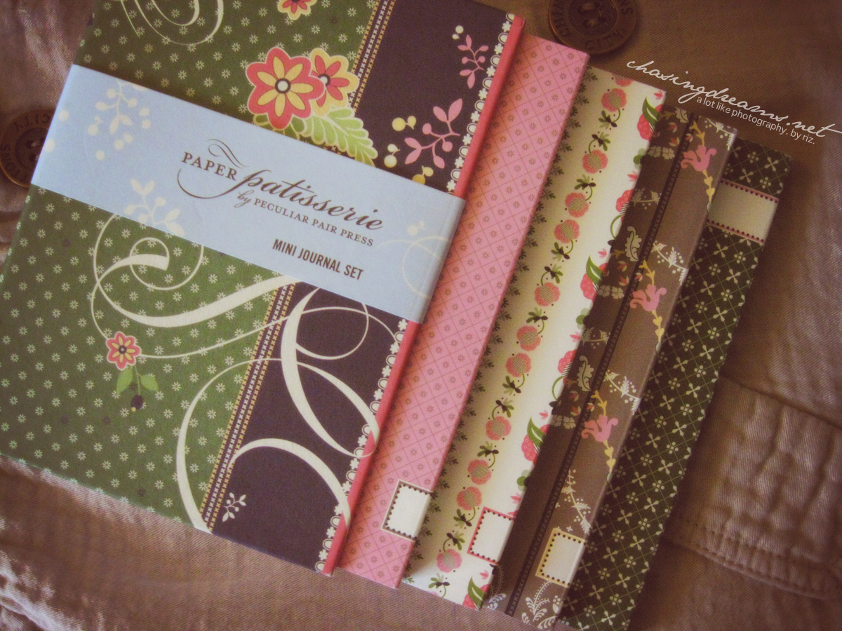 Paper Patisserie Mini Journal Set by Pecular Pair Press