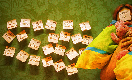 Post Its   Photo by Pam Pastor