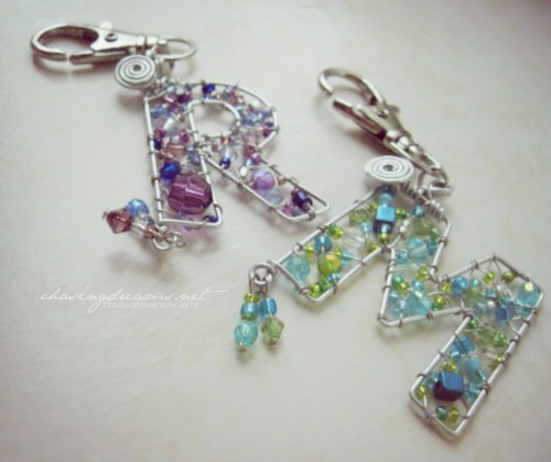 Letter Charms by Artecrafts