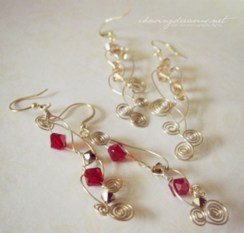 Earrings by Inthefishbowl