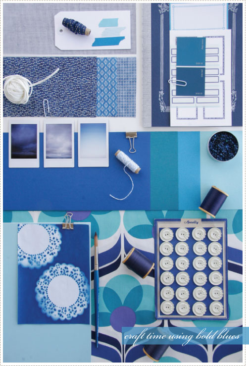 Purples, Teals, and Blues | A Creative Mint