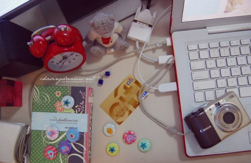 What's Really on my Desk