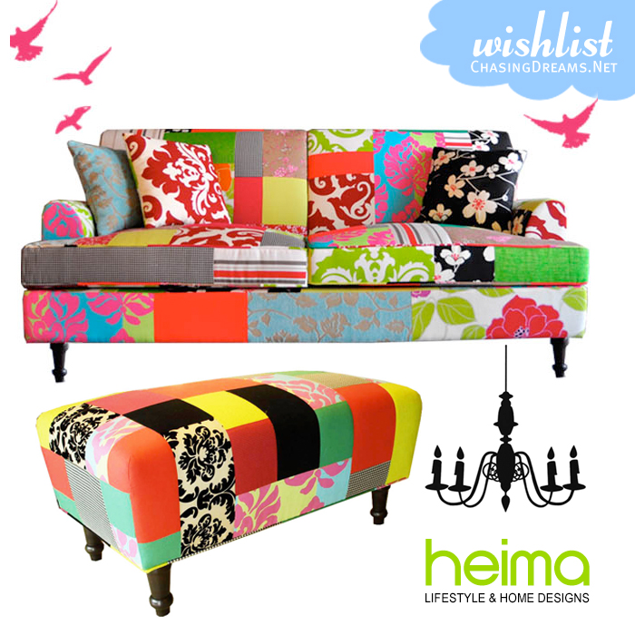 Wishlist - Happy Couch and Bench from Heima!