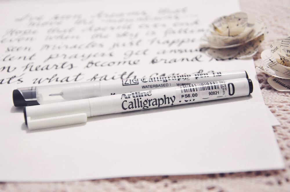 Artline Calligraphy Pens