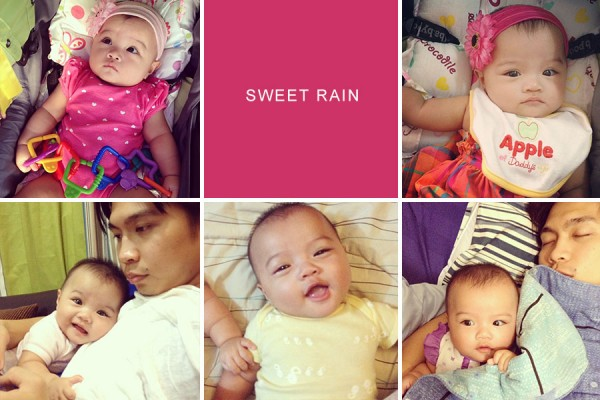 April on Instagram: Sweet Rain
