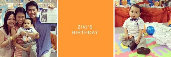 April on Instagram: Ziki's Birthday