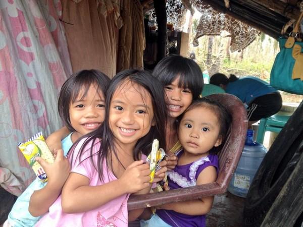 Typhoon Yolanda children