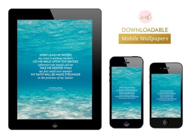 Free Mobile Wallpaper: Oceans by Hillsong