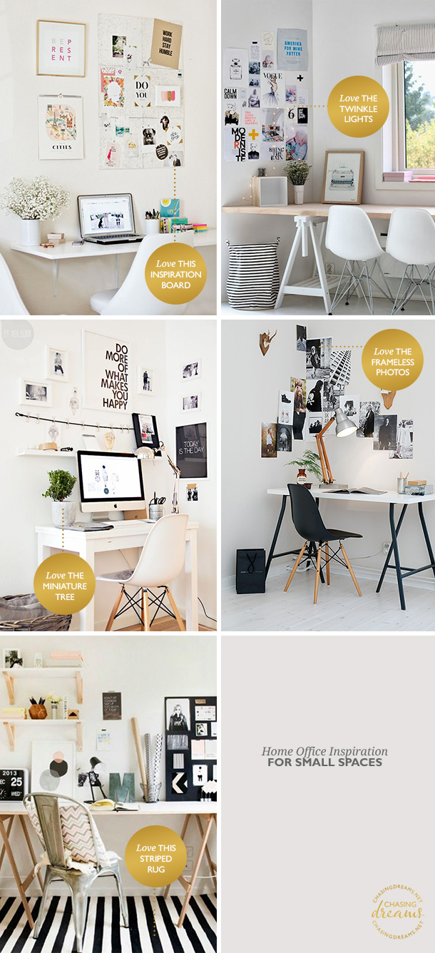 Home Office Inspiration for Small Spaces
