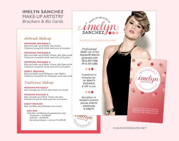 Imelyn Sanchez Business Cards and Brochures