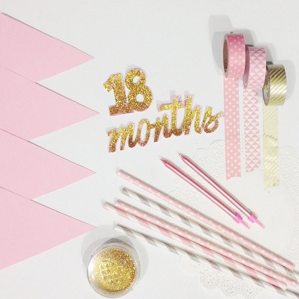 Pink & Gold Little Party