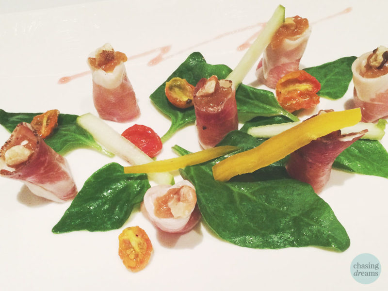 Madison's Bistro Moderne - Speck and Goat Cheese Mousse