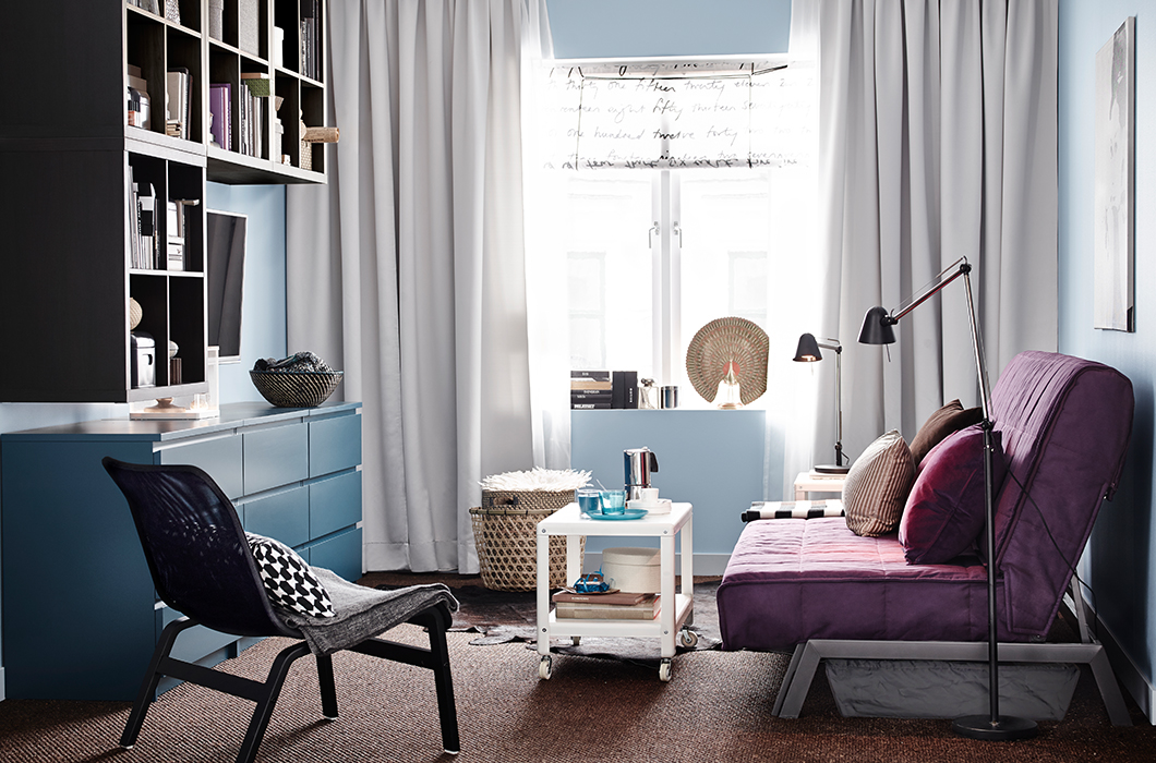 ikea catalog living room