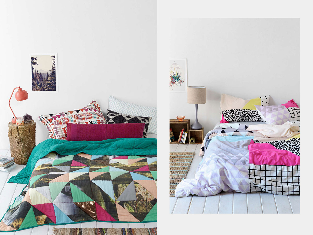 Home inspiration 10 floor bed ideas from urban outfitters for Urban home beds