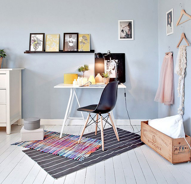 22 Scandinavian Home Office Designs Decorating Ideas: Home Inspiration: Scandinavian Home Office Spaces