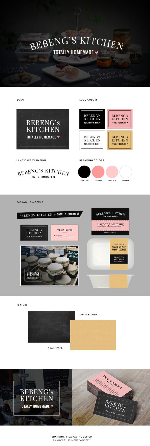 Bebeng's Kitchen Branding & Identity Design