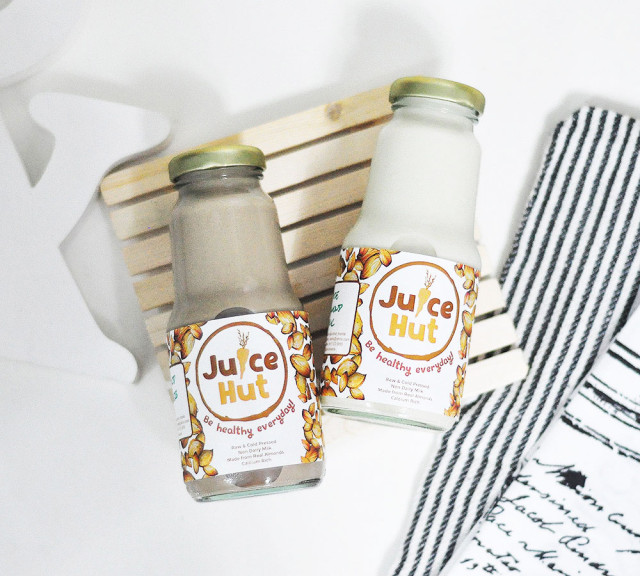 Juice Hut Almond Drinks