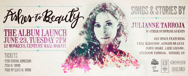 Ashes to Beauty Album Launch