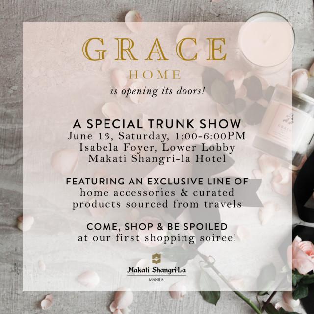 Grace Home Trunk Show