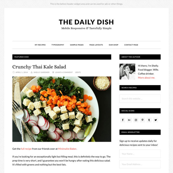 Studiopress Sites: Daily Dish Pro
