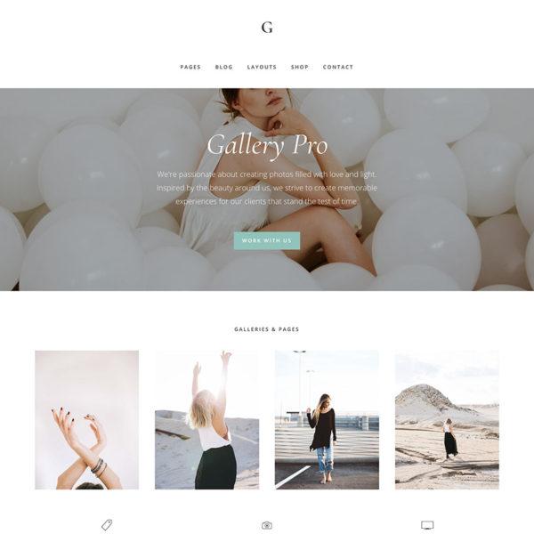 Studiopress Sites: Gallery Pro