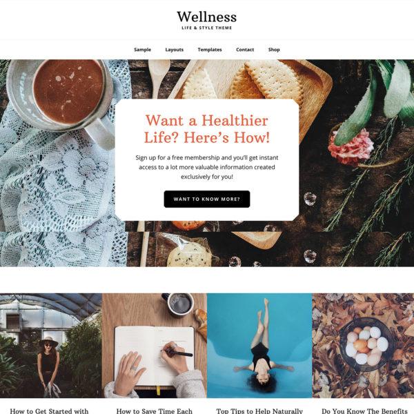 Studiopress Sites: Wellness Pro