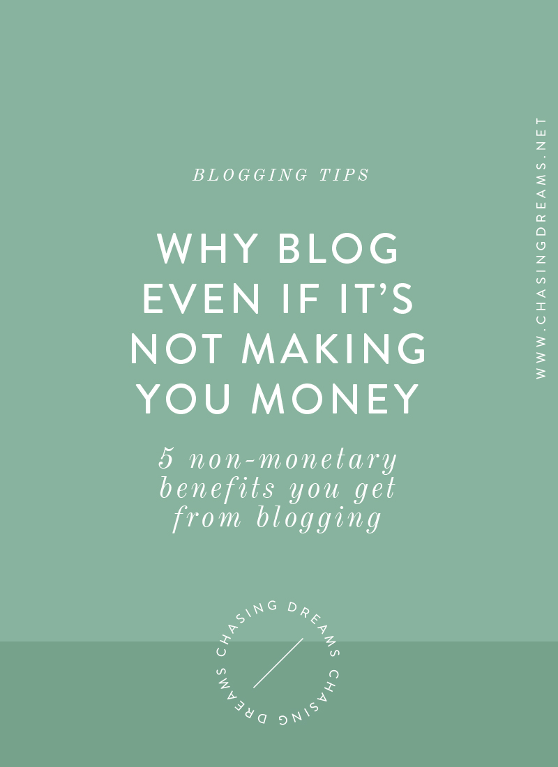 5 Intangible, Non-Monetary Benefits You Get From Blogging
