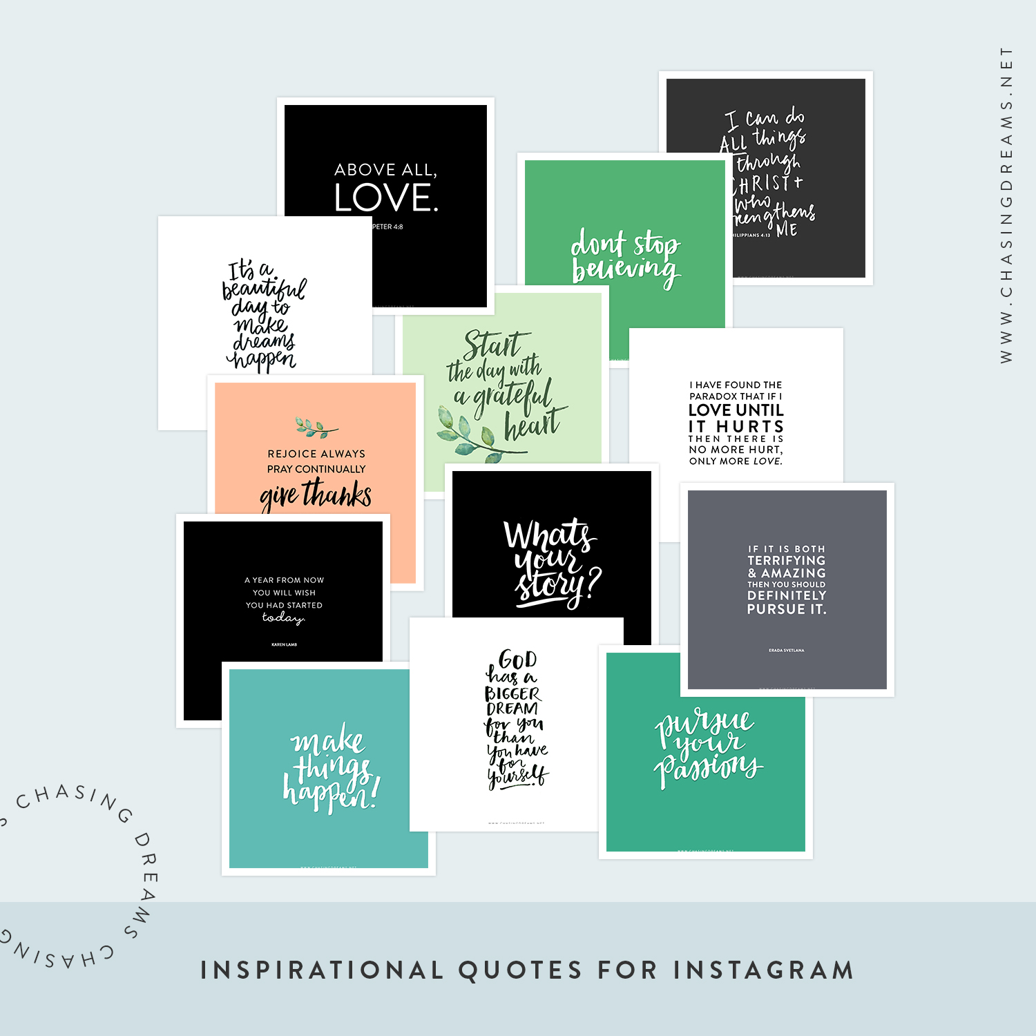 Instagram Quotes Chasing Dreams Blog